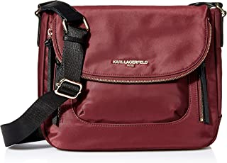 Karl Lagerfeld Paris womens Cara Flap Messenger