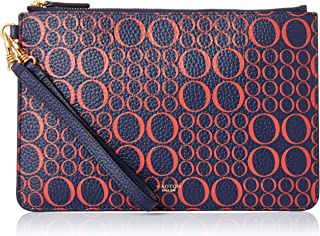 Oroton Women's Signet Med Pouch, Galaxy/Red, One Size