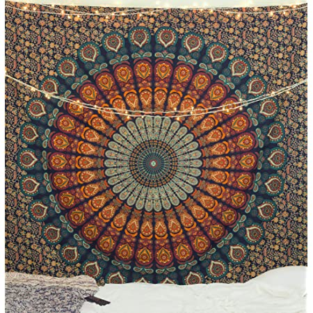 Details about  /Punk Trippy Fantasy Tapestry Wall Hanging Mandala Bedspread Indian Poster