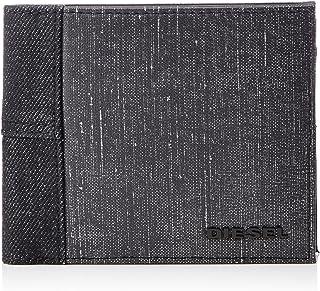Diesel Men's VENEZZE HIRESH S - wallet, Grey/Blue, UNI
