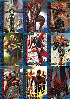 MARVEL FLEER RETRO 2013 UPPER DECK COMPLETE BASE CARD SET OF 60