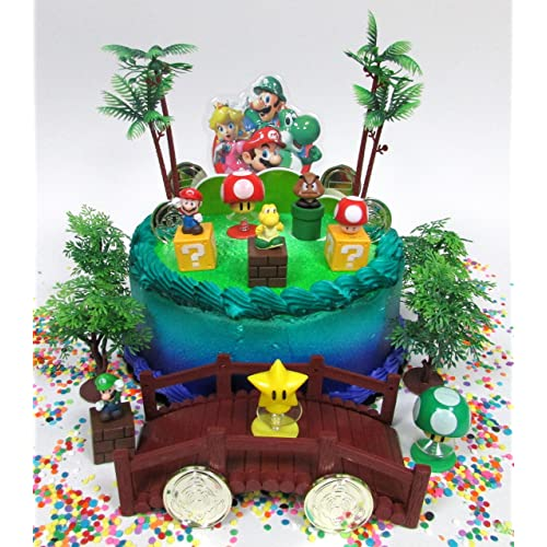 Mario Cake Decorations Amazon Com