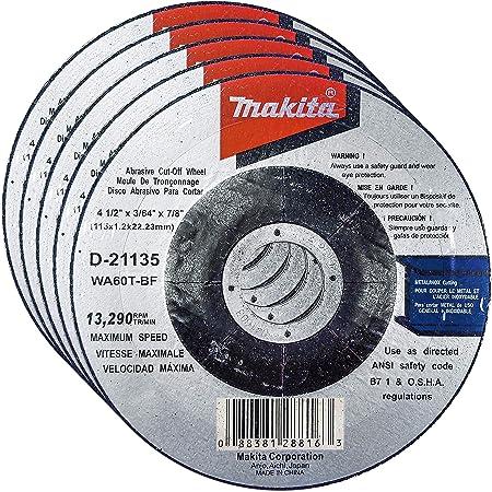 "616060 25//box Mercer Abrasives Black Lightning 6"" x .040"" x 7//8"" Metal"