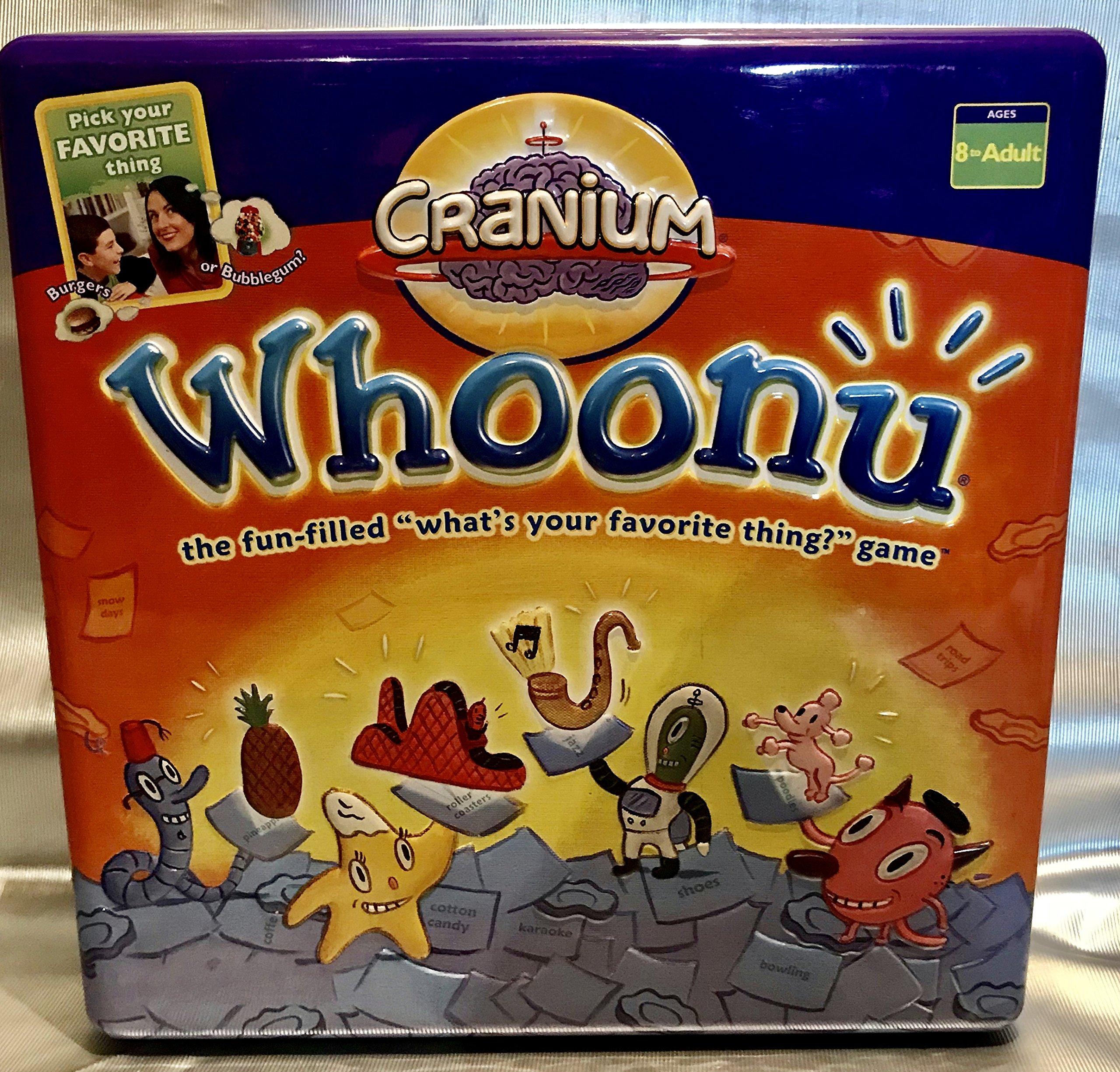 Cranium Whoonu Deluxe Tin Edition: Amazon.es: Juguetes y juegos
