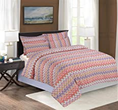 Tapestry Maison 8 PC Duvet Cover Set, Static, 400 Thread Count (Twin XW(48 INCH) Twin Duvet)