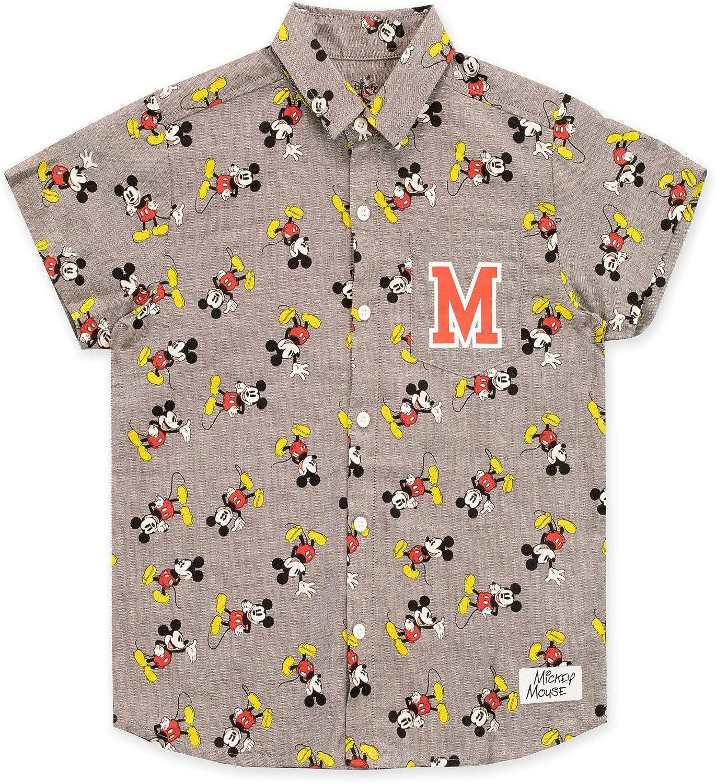 Disney Boys Mickey Mouse Shirt