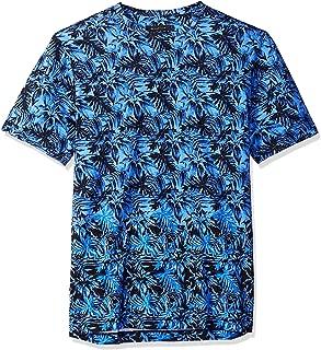 Bugatchi Men's Single Mercerized Night Blue Cotton Jersey T-Shirt