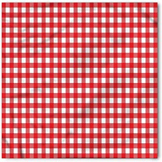 red and white checkered turban