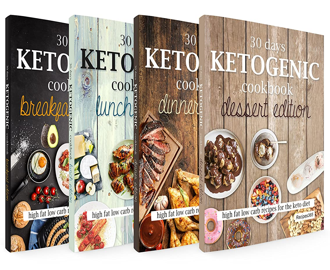 The Big Ketogenic Cookbook: Delicious & Nutritious Keto Diet Recipes: High Fat Low Carb Cookbook for Breakfast, Lunch, Dinner & Dessert (English Edition)