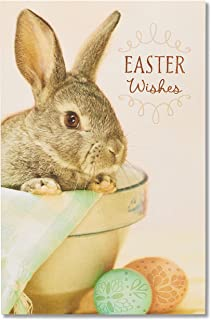 American Greetings Easter Card (Bunny)