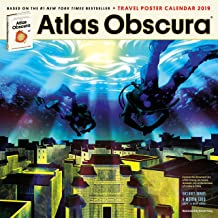 Atlas Obscura Wall Calendar 2019
