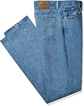 Wrangler Authentics Men's Classic Relaxed Fit Jean, Stone Bleach, 31x30
