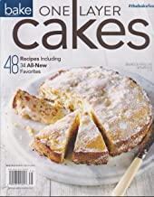 Bake From Scratch Single Layer Cakes Magazine 2017