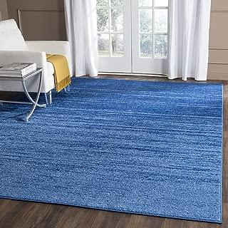 Safavieh Adirondack Collection ADR113F Light Blue and Dark Blue Modern Abstract Area Rug (8' x 10')