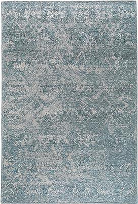 benuta Alfombra de Tejido Plano Tosca Azul 115 X 180 cm