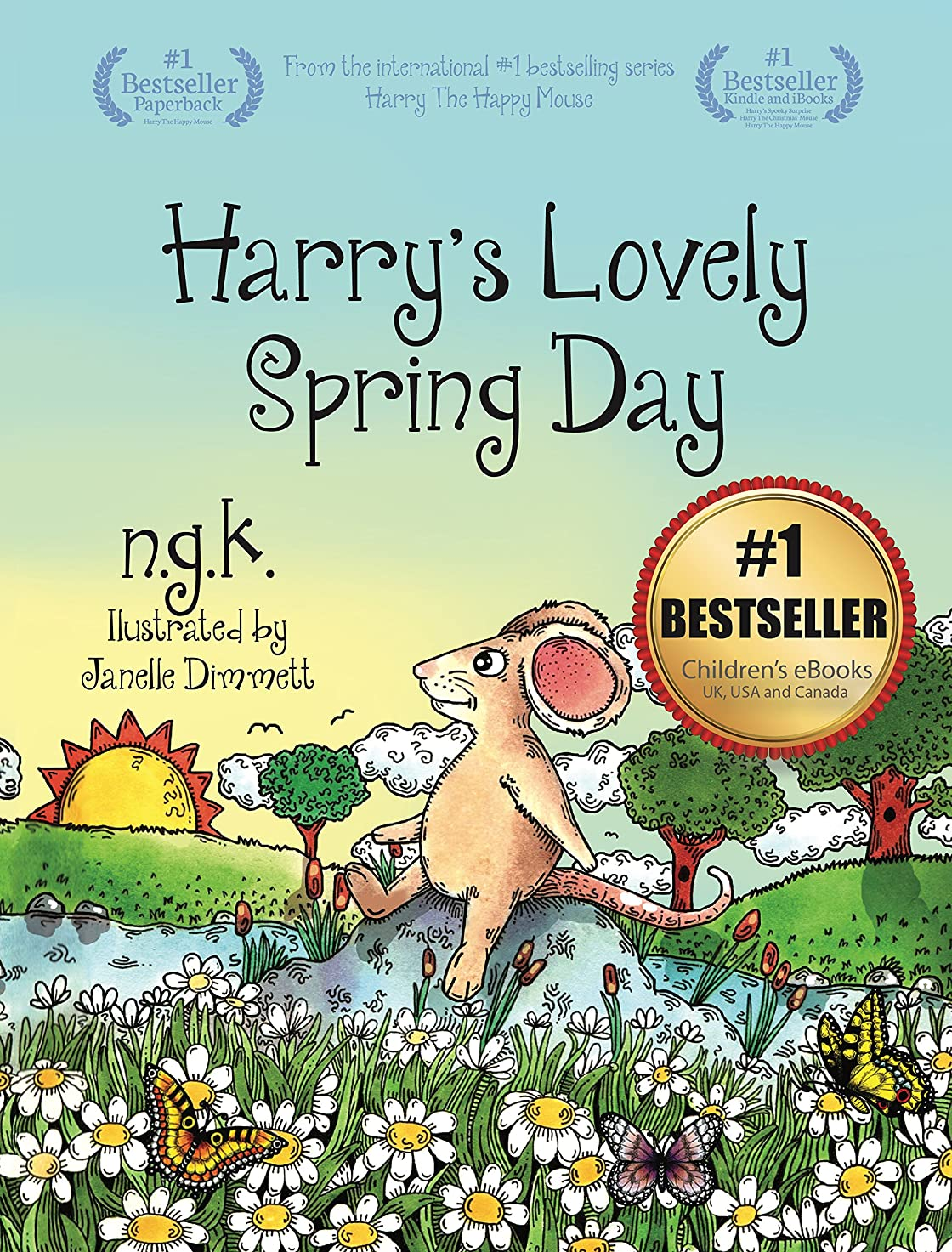 香り鳩によるとHarry's Lovely Spring Day: Teaching children the value of kindness. (Harry The Happy Mouse Book 1) (English Edition)