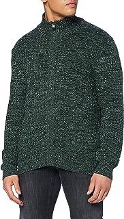 Pierre Cardin Men's Multicolor Structure Strickjacke Cardigan Sweater