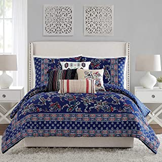 midnight blue vera bradley bedding