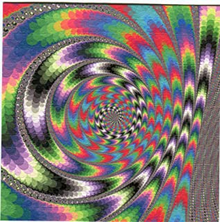 Gdabs Psychedelic Blotter Art Print perforated sheet/paper 15x15 - Triangle Design
