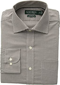 Classic Fit No-Iron Houndstooth Warren Dress Shirt
