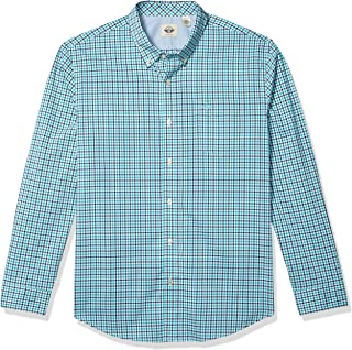 Men's Long Sleeve Plaid Woven Shirt