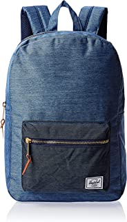 Herschel Unisex-Adult Settlement Mid-Volume Backpack, Faded Denim - 10033
