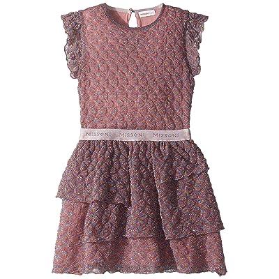 Missoni Kids Pizzo Lame Dress (Big Kids) (Pink) Girl