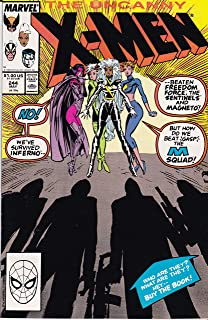 The Uncanny X-Men #244 : Ladies' Night (First Appearance of Jubilee - Marvel Comics)