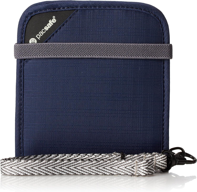 One Size Pacsafe Rfidsafe V100 Dark Blue