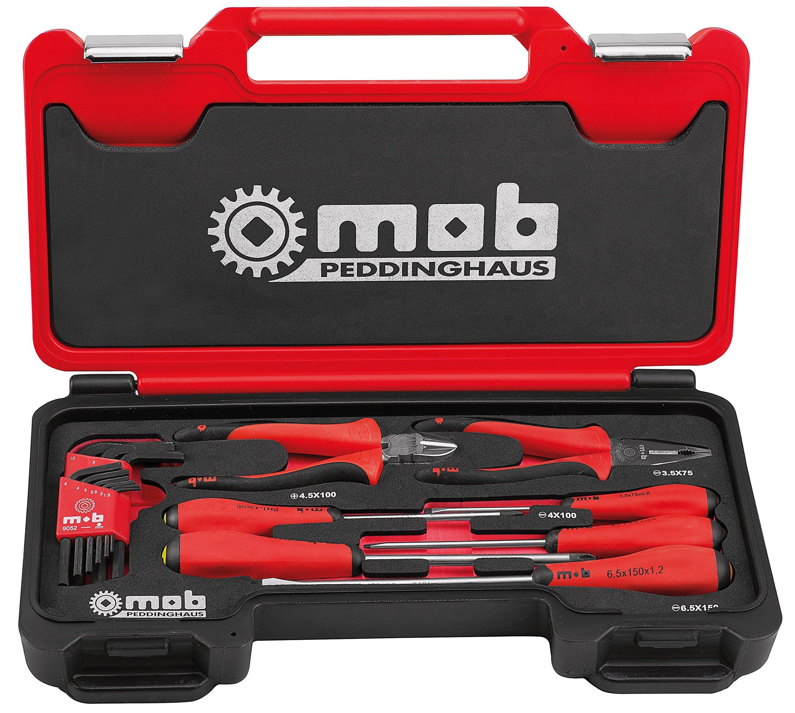 MOB Outillage 9436016001 – Estuche de destornilladores con pinzas, 8 piezas: Amazon.es: Bricolaje y herramientas