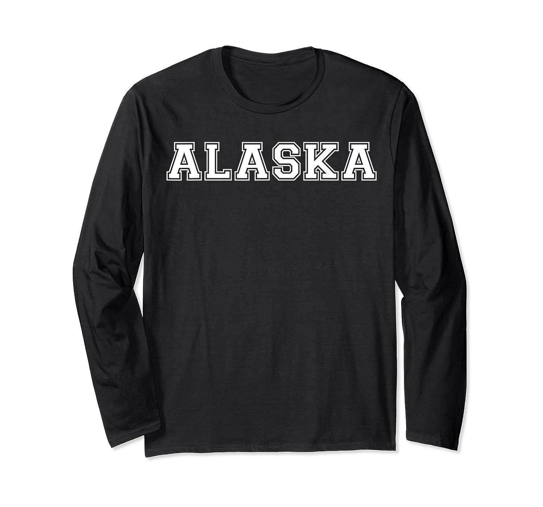 College University Style Alaska Sport Gift T-shirt Long Sleeve T-shirt
