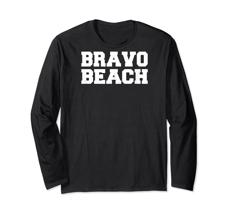 Bravo Beach South Carolina Military College Shirts Long Sleeve T-shirt