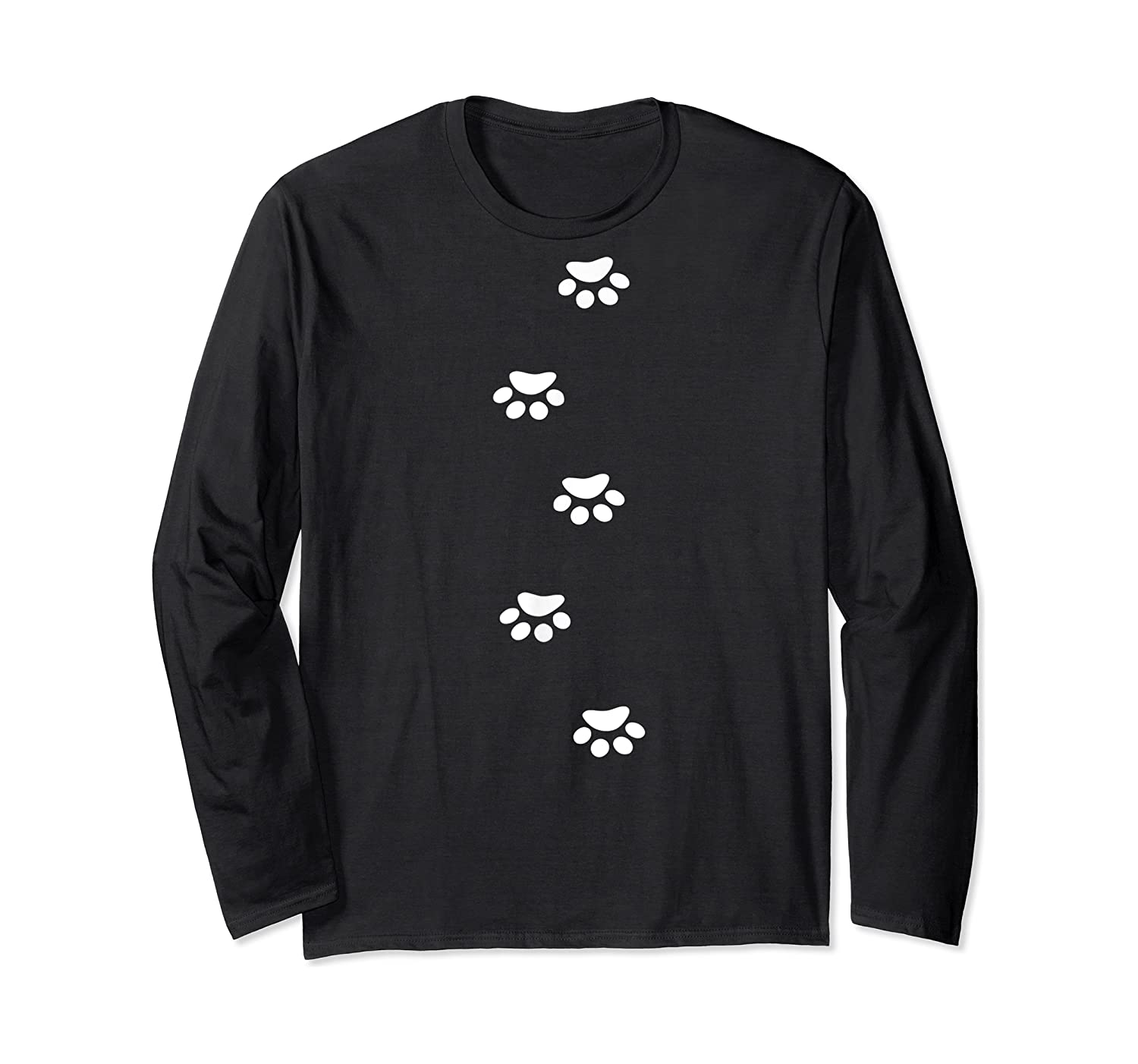 Paw Prints Lovers Dogs Cats Animals T-shirt Long Sleeve T-shirt