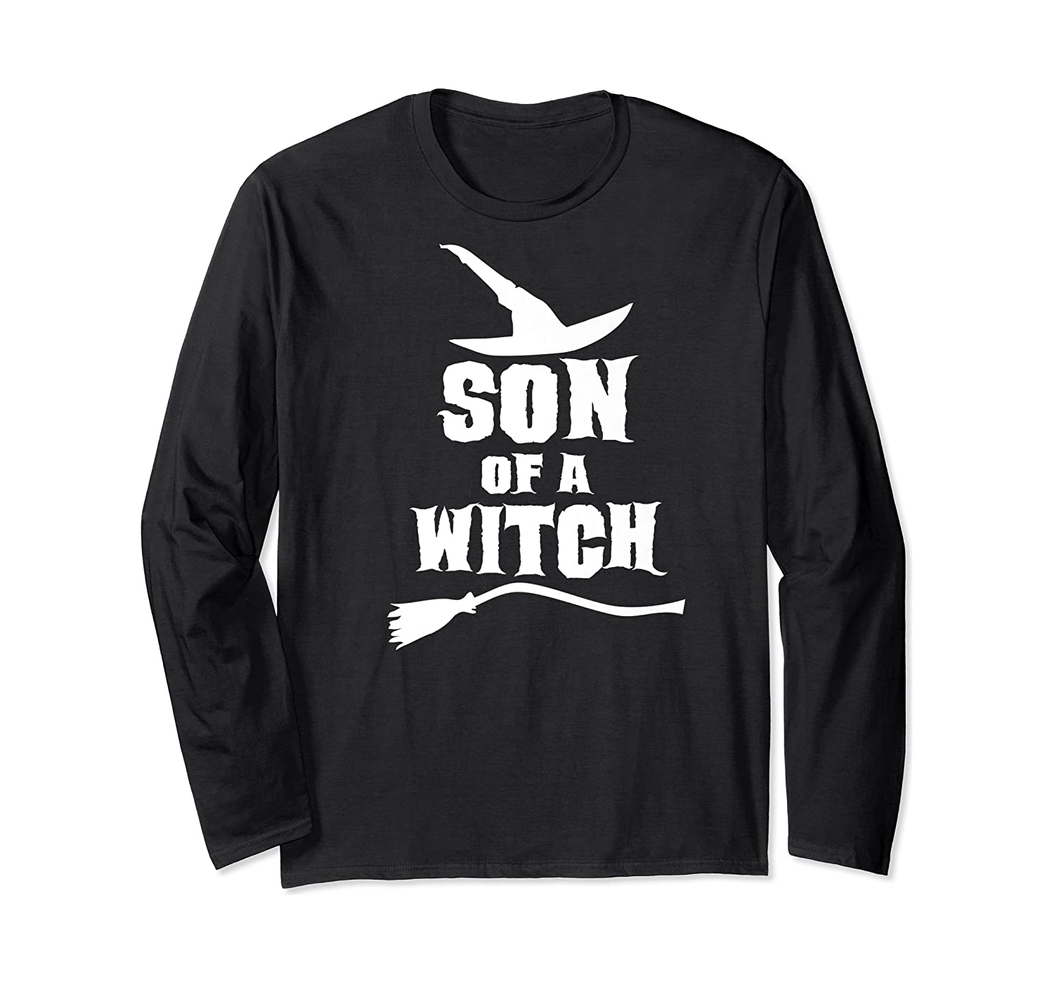 Son Of A Witch Funny Witch Inspired Gifts Premium T-shirt Long Sleeve T-shirt