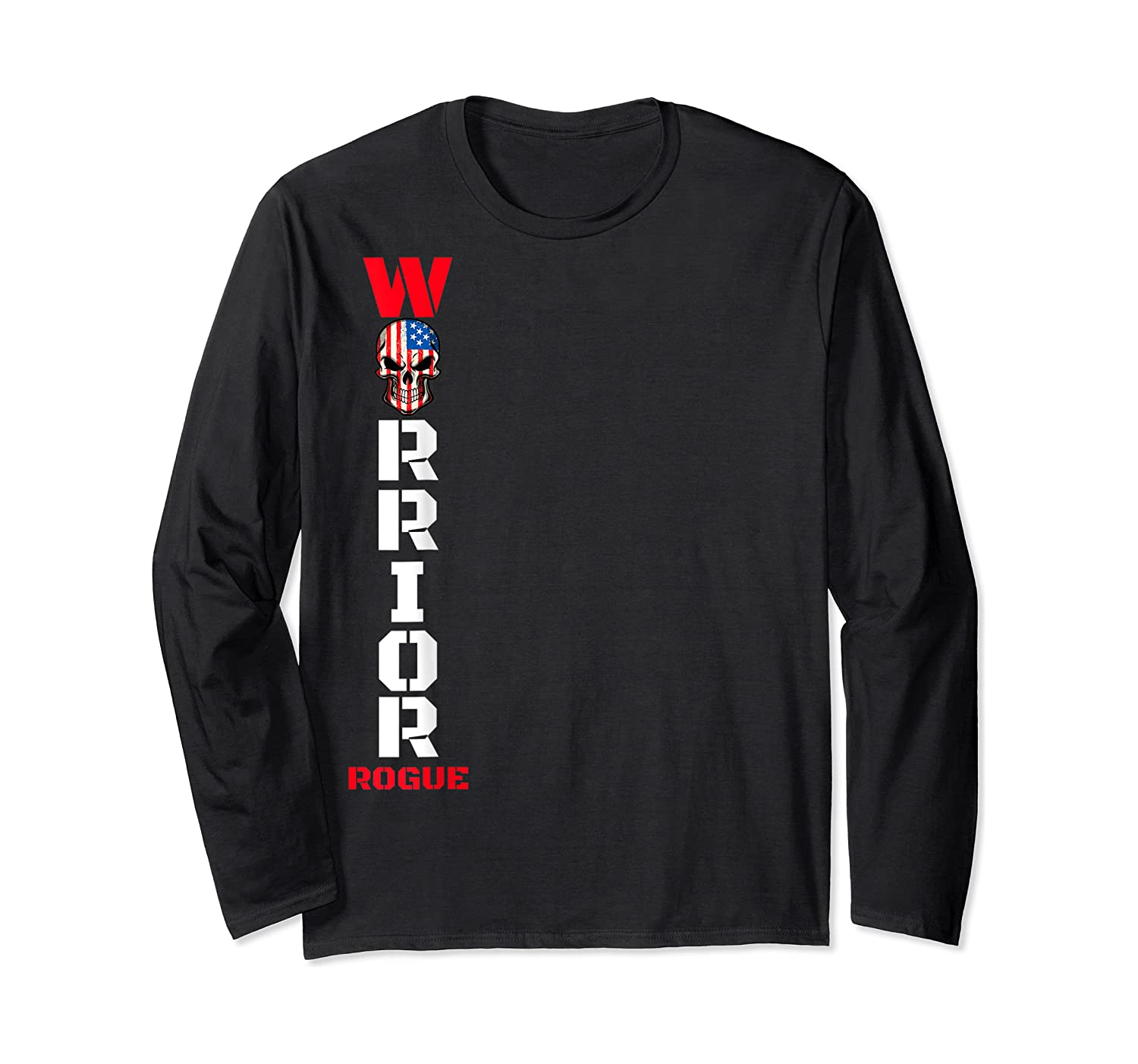 Supreme Rogue Warrior Patriot Military Armed Forces Rebel T-shirt Long Sleeve T-shirt