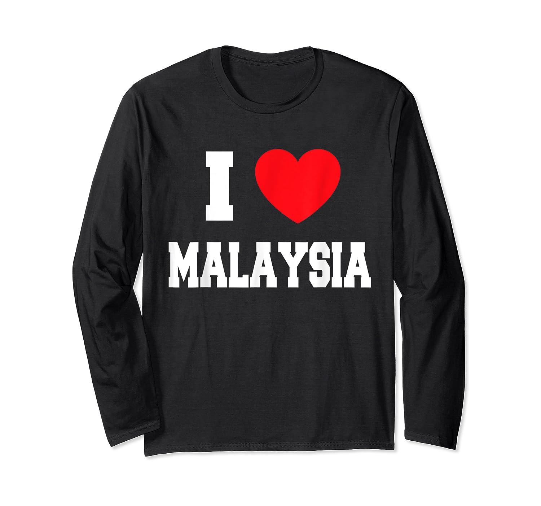 Love Malaysia Shirts Long Sleeve T-shirt