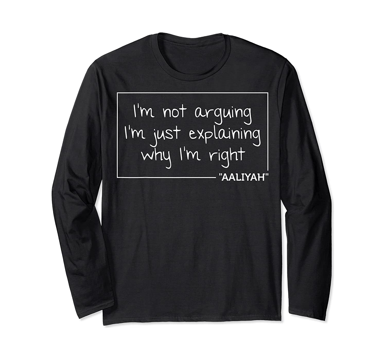 Quote Personalized Name Funny Birthday Gift Idea Shirts Long Sleeve T-shirt