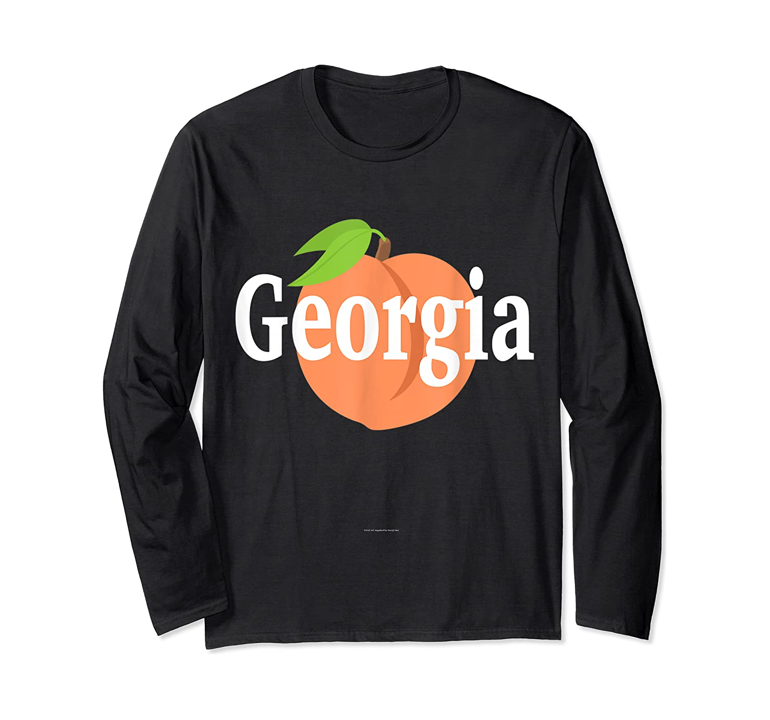 Georgia Peach State Pride Southern Roots T Shirt Long Sleeve T-shirt