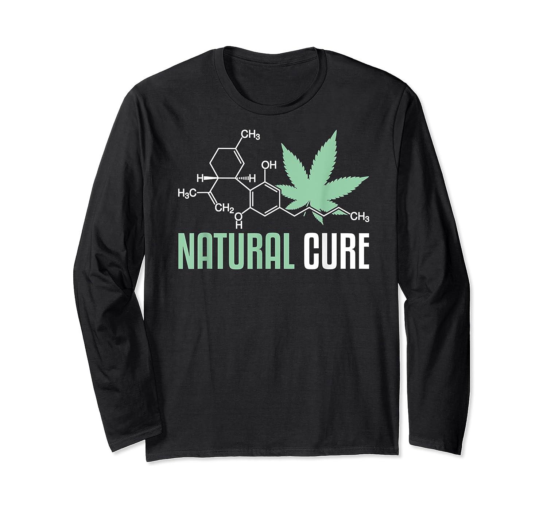 Natural Cure Cbd T-shirt Long Sleeve T-shirt