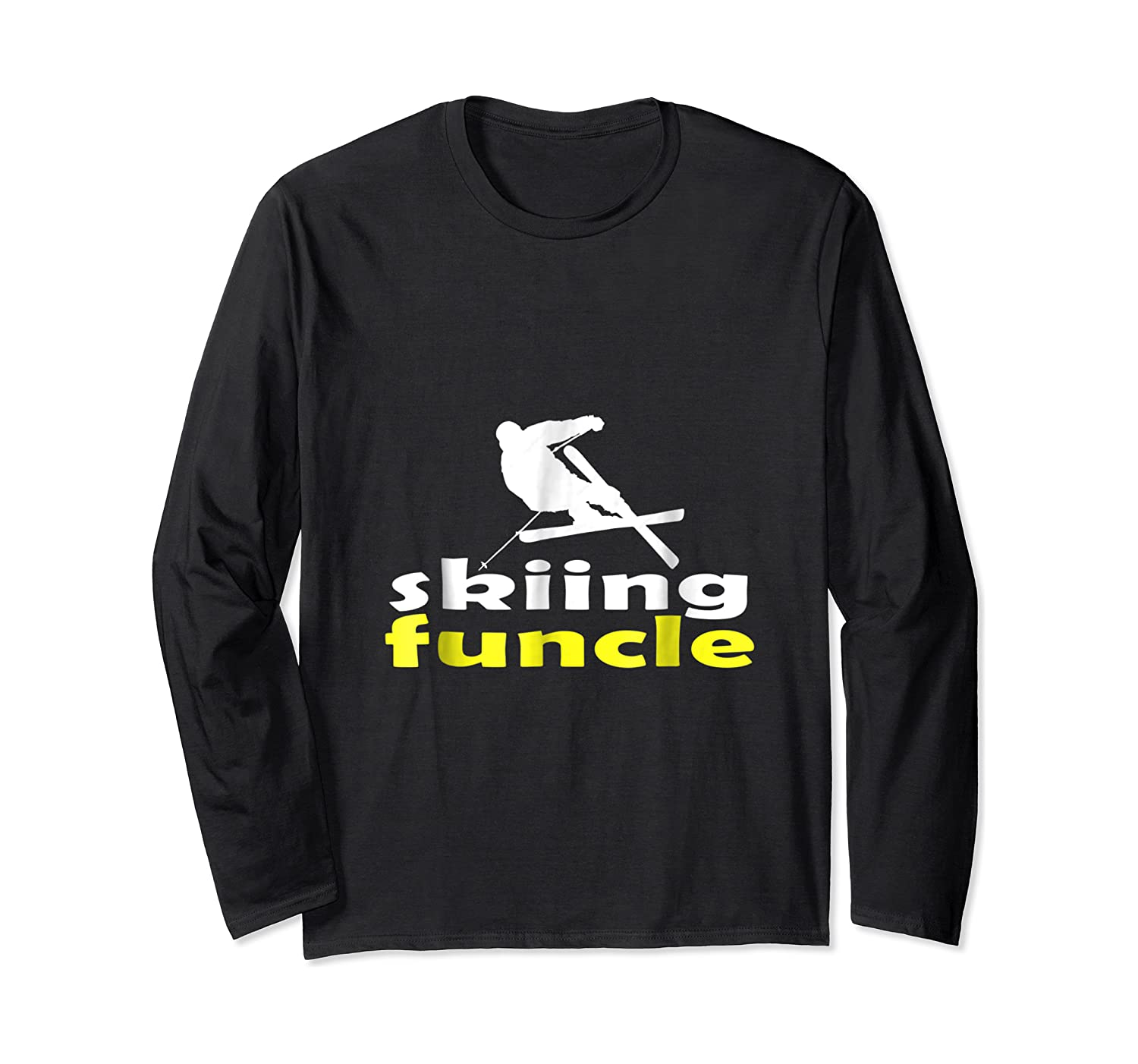 S Skiing Funcle Shirts Uncle Ski Gifts Definition For S Tee Long Sleeve T-shirt