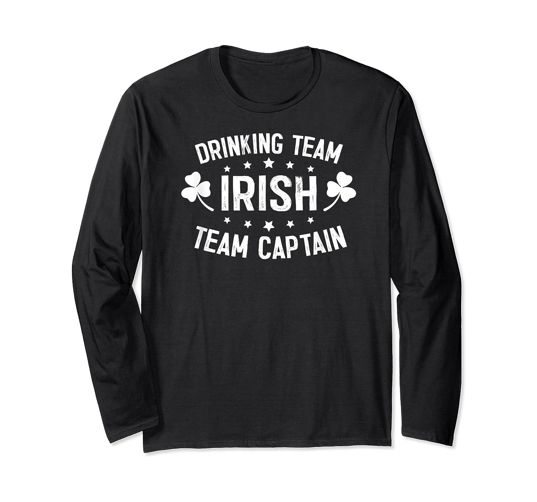 Irish Drinking Team, Team Captain T-shirt Long Sleeve T-shirt