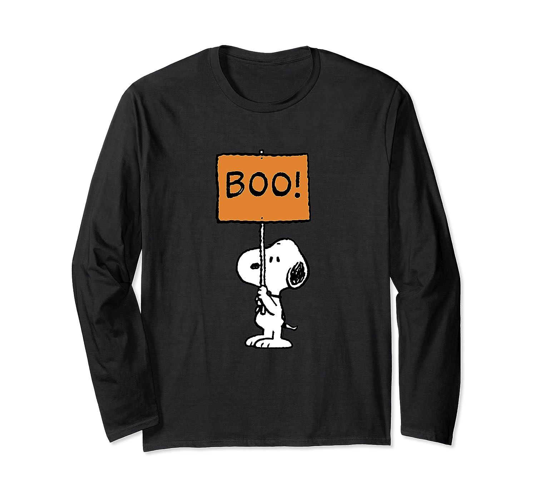 Peanuts Halloween Snoopy Boo! Long Sleeve T-Shirt