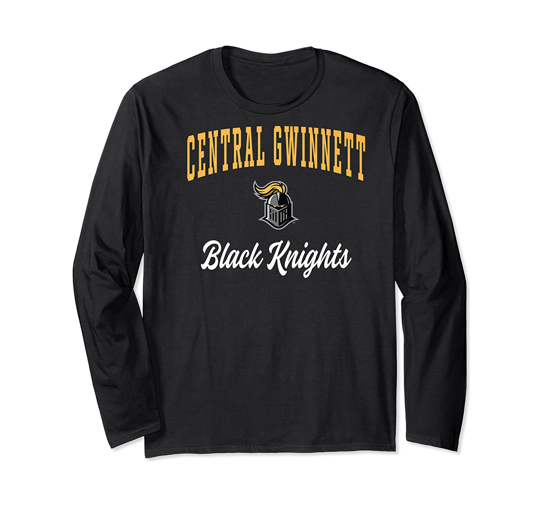 Central Gwinnett High School Black Knights Shirts Long Sleeve T-shirt