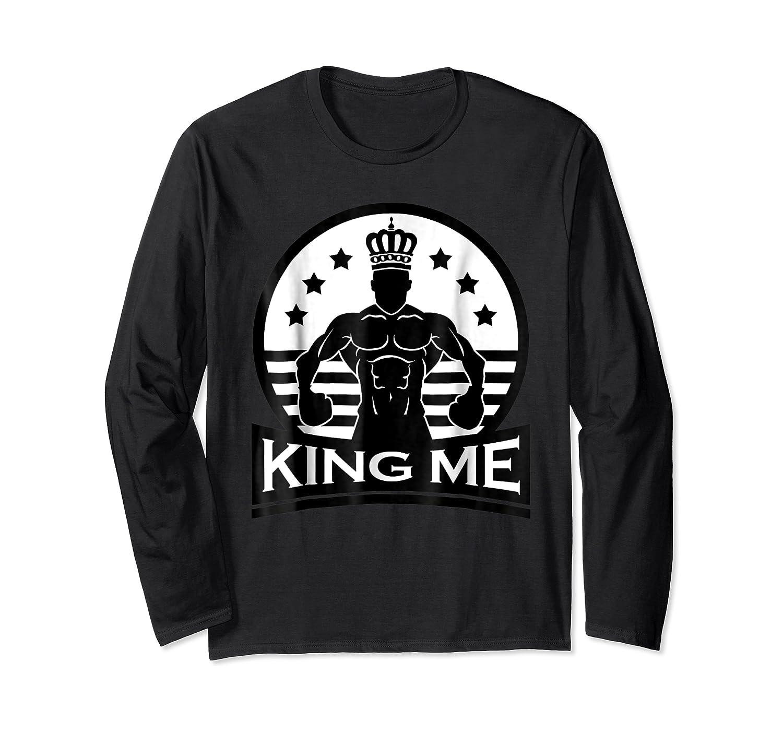 Grand Arte: King Me Boxing T-shirt Long Sleeve T-shirt
