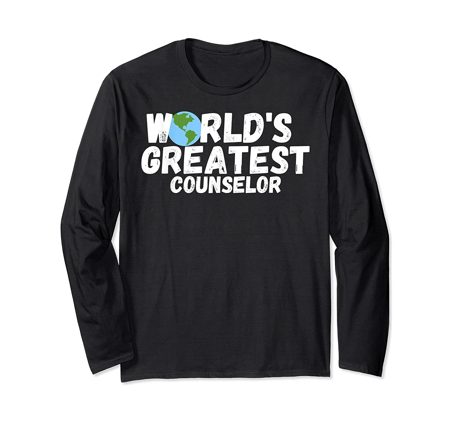 World's Greatest Counselor Gift Shirts Long Sleeve T-shirt