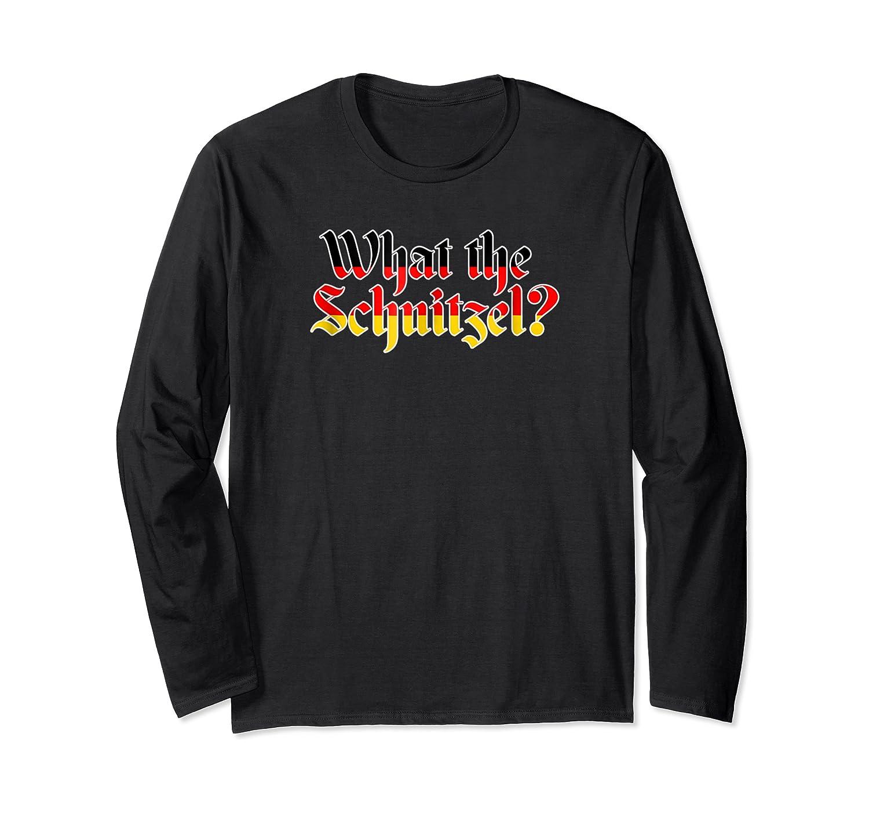Cool Schnitzel Shirt Oktoberfest Beer Drinking Party Gifts Long Sleeve T-shirt