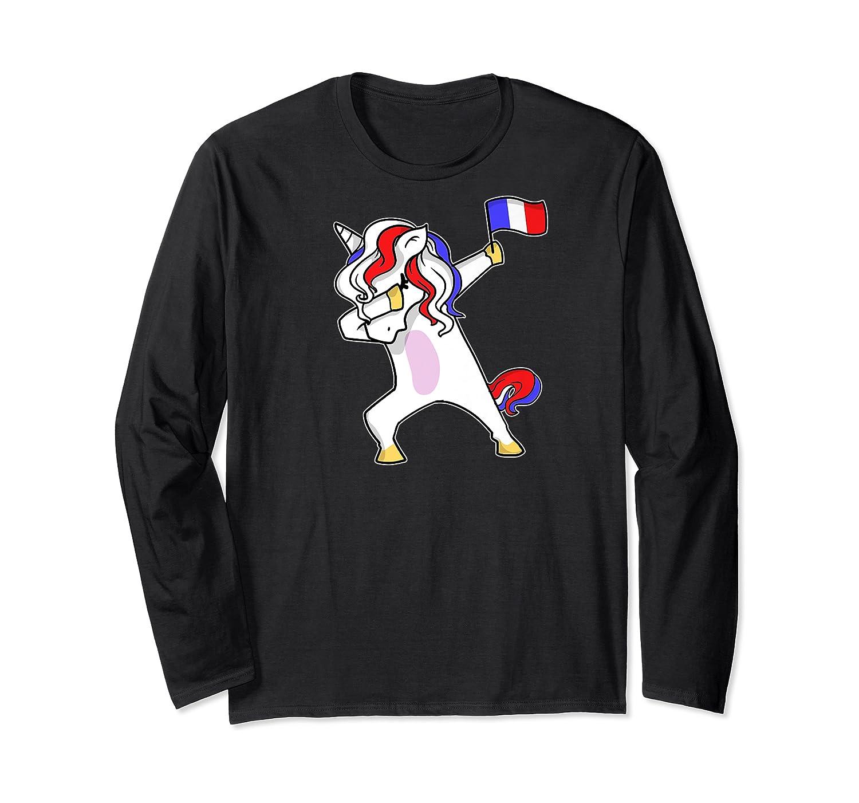 Soccer Unicorn France Design French Football Gift Premium T-shirt Long Sleeve T-shirt