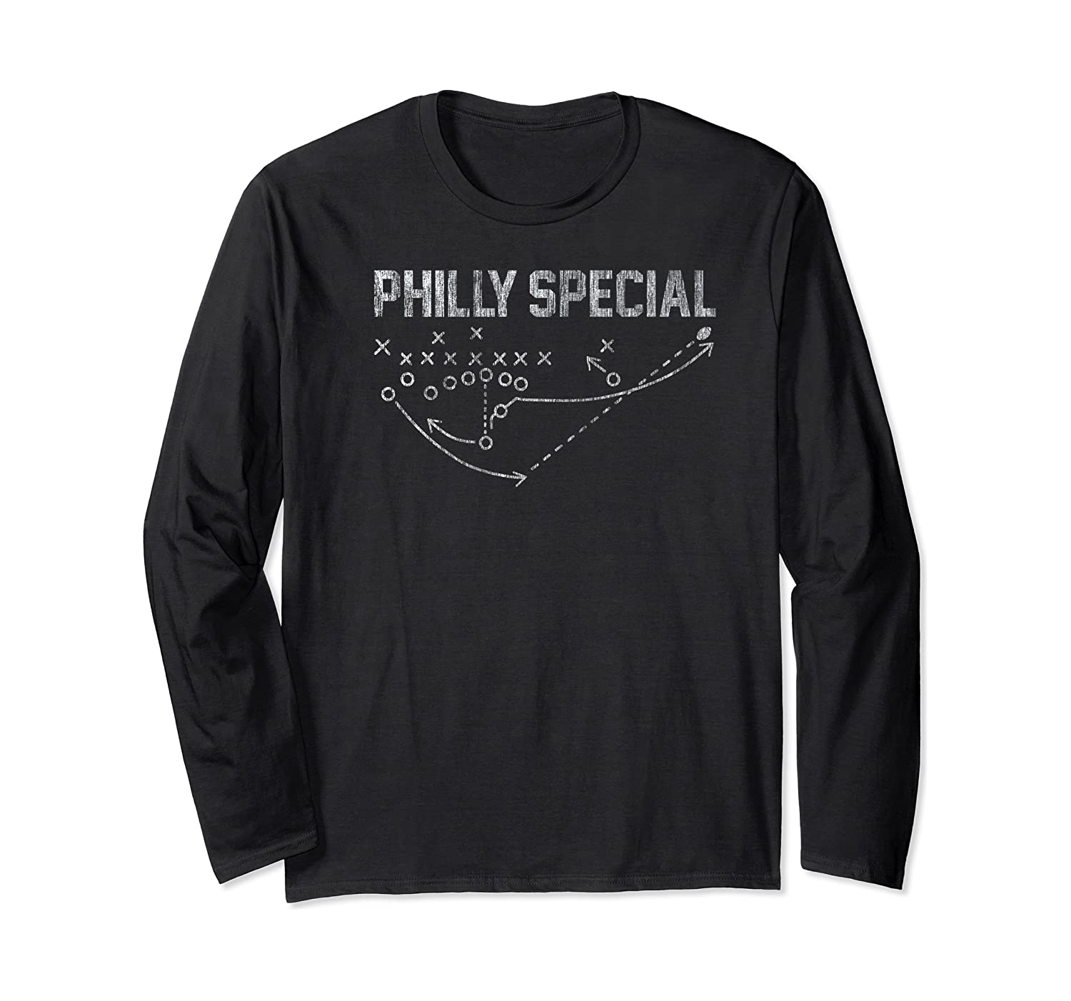 Philly Special Distressed Shirts Long Sleeve T-shirt