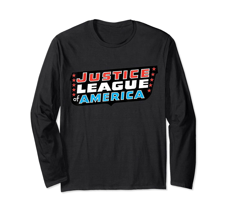 Justice League Logo Jla Classic 01 Shirts Long Sleeve T-shirt