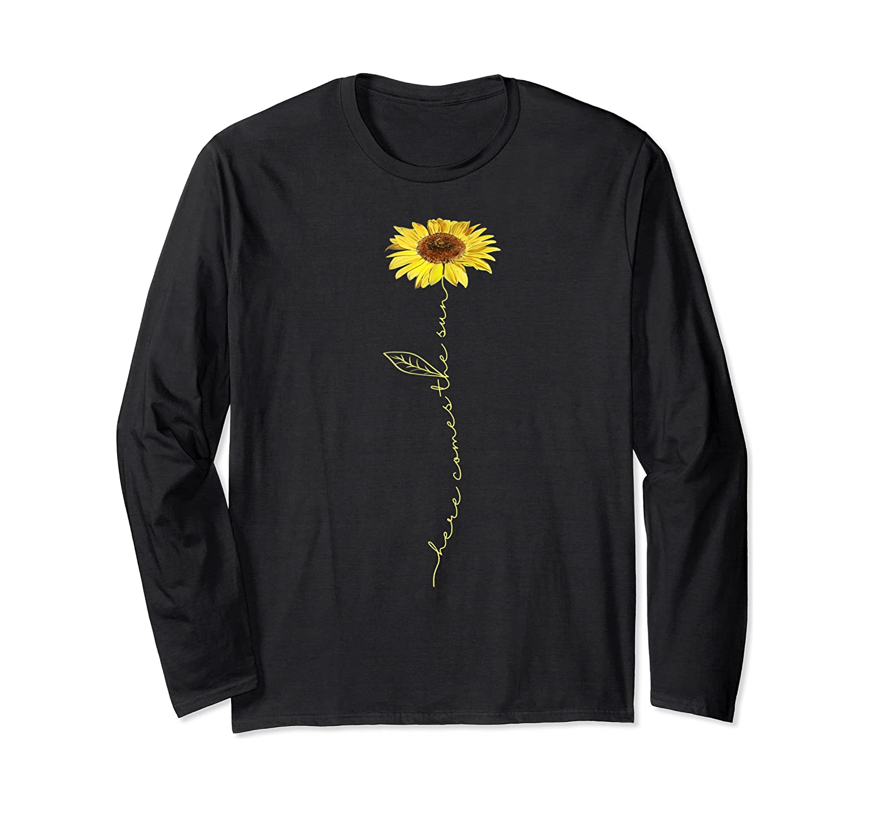 Here Comes The Sun Hippie T-shirt Long Sleeve T-shirt